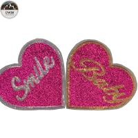 Buy cheap Eco Friendly Custom Made Embroidered Patches Non Woven / Glitter Material from wholesalers