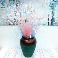 Wholesale Colorful Fake Onion Grass , Plastic Peacock Flower Plant Various Size from china suppliers