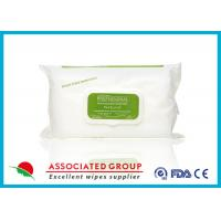 Buy cheap Eco Friendly Adult Wet Wipes Unscented , Travel Size Wet Wipes from wholesalers