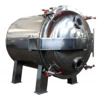 Wholesale Round Shape Static Vacuum Dryer Oven , Industrial Tray Dryer For Foodstuff from china suppliers