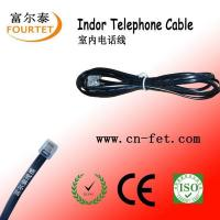 Buy cheap RJ11 flat telephone cord from wholesalers