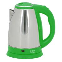 Buy cheap Chinese cool green handle stainless steel electric tea kettle from wholesalers