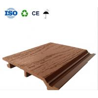 Buy cheap Wood plastic wall panel, wood plastic roof panel, wall hanging tile, environmental protection pe composite board from wholesalers