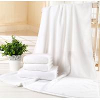 Buy cheap 100% Cotton Custom White Terry Hotel 80*180cm Bath Towels Manufacturer from wholesalers