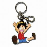 Wholesale 3D Soft PVC Keychain, Suitable for Promotional Gifts, Customized Logos and Designs are Accepted from china suppliers