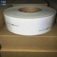 Wholesale Sew On SOLAS Reflective Tape , Lifejackets Retro White Marine Tape IMO MED Approvals from china suppliers