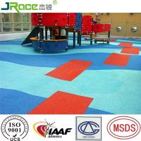 Buy cheap Outdoor Floor Covering EPDM Rubber Flooring High Elasticity And Wear Resistance from wholesalers