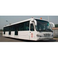Wholesale Low Carbon Alloy Steel Body Airport Transfer Bus Airport Coaches 5100mm Wheel Base from china suppliers