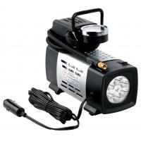 Buy cheap 12V With light Black Metal Vehicle Air Compressor All Ride For Car Inflation Anti - Dust from wholesalers