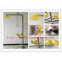 China Durable SUS304 Emergency Shower And Eyewash Station For Chemical Laboratory on sale