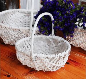 wicker handle basket wicker fruit basket bamboo wicker baskets cheap wicker picnic basket Manufactures