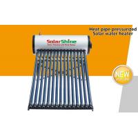 Wholesale Ground Mounted Evacuated Tube Solar Hot Water Heater For Private Residential Use from china suppliers