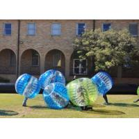 Buy cheap Tpu / Pvc 1.5m Outdoor Inflatable Toys Human Inflatable Bumper Bubble Ball For Adult from wholesalers