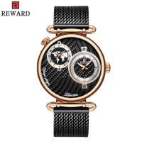 Buy cheap Chinese Two Movement Stainless Steel Caseback Watch , Mens Waterproof Watches Alloy Case from wholesalers
