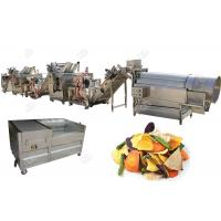 Buy cheap Stainless Steel 304 Potato Chips Making Machine Fruit And Vegetable Chips Semi - Automatic from wholesalers