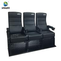 Buy cheap Modern 4D Cinema Chair / Comfortable VIP High Back Movie Theater Seat from wholesalers