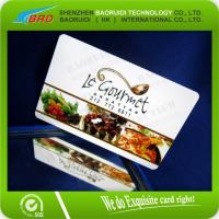 Buy cheap credit card size PVC VIP Gift Card from wholesalers