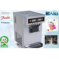 Automatic Soft Ice Cream Vending Machine Table Top 35 L/H 3 Flavor Manufactures