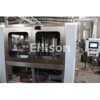Buy cheap Belt Conveyor Touch Screen Plastic Bottle Filling Machine from wholesalers
