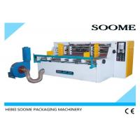 Buy cheap Electrical Corrugated Paperboard Slitting Machine Easy Operation High Efficiency Adopt Eight Rolls from wholesalers