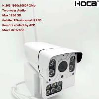 Buy cheap New 1080P 2Mp Outdoor water-proof P2P Wireless IP camera built-in micro and speaker SD card Two ways voice HD WIFI Camer from wholesalers