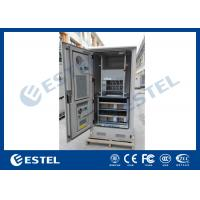 Buy cheap Stainless Steel Waterproof Outdoor Power Cabinet With Battery / Equipment Compartment from wholesalers