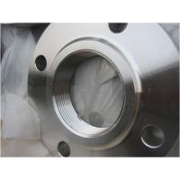 Buy cheap DN80 PN16 Threaded Pipe Flanges Hydraulic Customizable Size Easy Installation from wholesalers