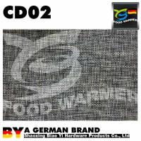 Buy cheap Flax Pattern Coffee Table Mat Black Color 30X45cm Stains Easy Wipe Countertop Protector from wholesalers