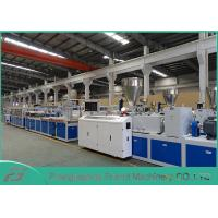 China High Output Pvc Profile Extrusion Line , Pvc Door Manufacturing Machine SJSZ-80/156 on sale