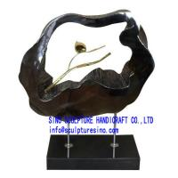 Wholesale Indoors Decorative Modern Bronze Abstract Sculpture from china suppliers