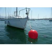 Wholesale 100kg Foam Filled Mooring Buoys , Ship Mooring Buoys With Chain Support from china suppliers