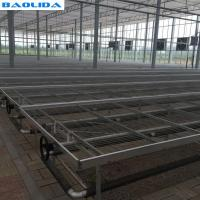 Buy cheap Movable Greenhouse Rolling Benches Breeding Nursery Seedling Size Customized from wholesalers