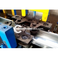Buy cheap Galvanized Coil Material C Shape Purlin Roll Forming Machine from wholesalers