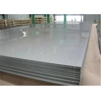 Buy cheap High Hardness Stainless Steel Metal Sheet With Mill Edge And Slit Edge from wholesalers