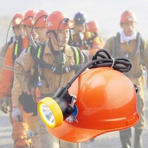 1500lux underground Miner cap lamp explosion proof headlamp Manufactures
