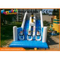 Wholesale Penguin Double Sided Outdoor Commercial Inflatable Slide Durable And Fireproof from china suppliers
