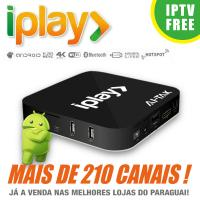 Wholesale HDMI 2.0 Brazilian IPTV Box Brasil , Iplay Portuguese TV Box No Time Limited from china suppliers