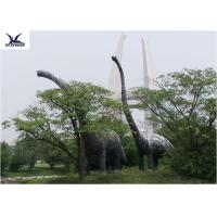 Wholesale Amusement Facility Animatronic Lifelike Animal Statues Moving Dinosaur Models from china suppliers