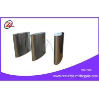 Buy cheap Stainless Steel Flap Barrier gate LED light access controler , RFID card from wholesalers