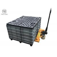 Buy cheap Four Way Returnable Recycled Plastic Pallets With Top Caps 1200 * 1000 * 150 Mm from wholesalers