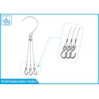 Buy cheap Chain Type Decorative Flower Pot Hanging Kit Double End Wire Rope Loop For Balcony from wholesalers