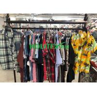 Buy cheap Adults 2nd Hand Mens Clothing , Second Hand Used Clothes Mens Shirts Short Sleeves from wholesalers