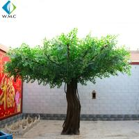 Wholesale 2.5m Height Fake Banyan Tree , Plastic Ficus Tree For Restaurant Garden Decoration from china suppliers
