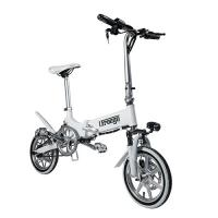 Buy cheap Mini Portable Folding Electric Bike / Fold Up Electric Bicycle 36V7.8Ah 14 Inch from wholesalers