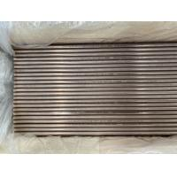 Buy cheap ASTM B88 ASTM B688 Copper Nickel Pipe Seamless / Welded Type High Resistance To Erosion from wholesalers