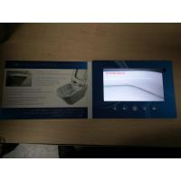Buy cheap IPS Screen 1024X600 pixels  7inch LCD video book video brochure , Magnetic switch from wholesalers