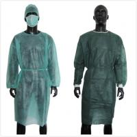 Buy cheap Reinforced ISO13485 Disposable Plastic Gown from wholesalers