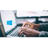 Buy cheap 64 Bit Windows 10 License Key , Windows 10 Professional Product For 50/100/200 PC from wholesalers