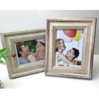 Buy cheap 6 inch High Quality PS material imitate metal fasional photo frame from wholesalers