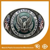 Wholesale Engravable Black Silver Western Custom Belt Buckle For Belt Accessories from china suppliers